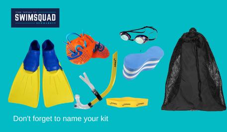 Swim Squad Gear